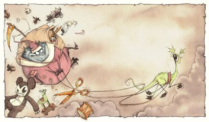 Here Comes Santa Claws by GrisGrimly