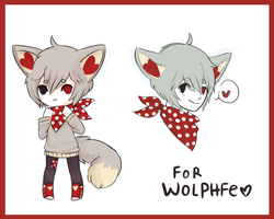 DOODLES FOR WOLPHFE BBY by Pajuxi