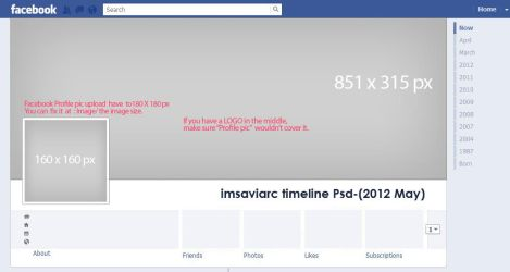 Facebook Timeline psd by annablemay