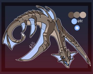 Sea Monster Auction (Closed) by sadraii