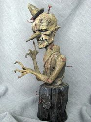 Gepetto's Nightmare painted 1 by Blairsculpture