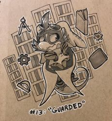 Inktide #13: Guarded by Nestly
