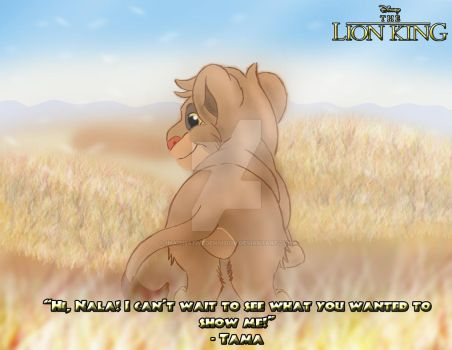 The Lion King - Little Tama by imaginativegenius099