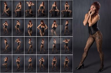 Stock: Ivy Lee Corset and Pantyhose - 24 Images by stockphotosource