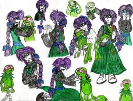 AU-the reborn witch's victim and the blinded frog by YuiHarunaShinozaki