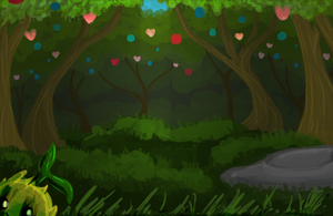 Fruitfall Forest by SilverWingStorm