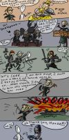 Dragon Age 2, doodles 2 by Ayej
