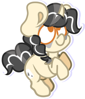 CLOWN PONY SQUISHIE by OliveCow