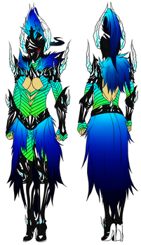 Decorative armor F. by iFierceFang