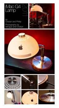 iMac G4 Lamp by dinyctis