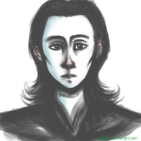 Quick Loki sketch. by Willowie