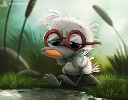 Day 835. Ugly Duckling by Cryptid-Creations