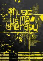 Music Is My Therapy by heavenideas