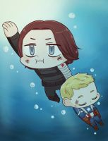 [MARVEL] WATER by twosugars16