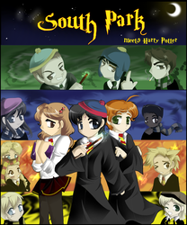 South Park meets Harry Potter by sakura02