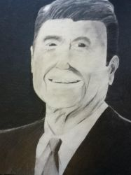 Ronald Reagan by nikkissippi121