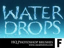 HQ Water Drop PS Brushes - F by Grasycho
