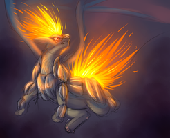 Takuyu Heatran Form by Pandoraz-Kyle