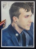 Frank Iero (Drawing) by Tokiiolicious