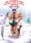 Reindeer king by sw