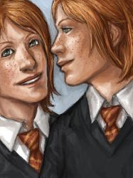 Harry Potter: Twins 'Kaki by ComradeBitter