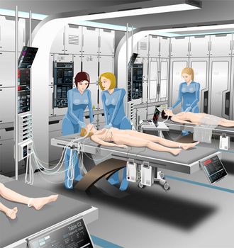 Post-Op Monitoring Unit by AlcyoneFX1
