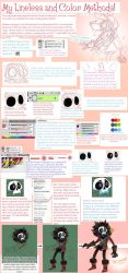 Lineless and Coloring Tutorial by MagicBunnyArt