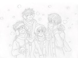 OHSHC - White snow by Arwen-chan