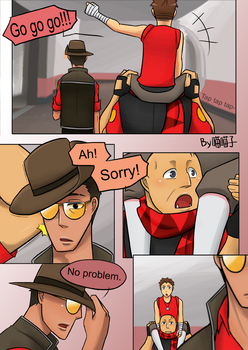 TF2_fancomic_My first war 85 by aulauly7