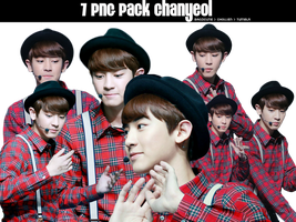 [2014 7PNG] Pack ChanYeol by @Baozicutie by MinHuy1502