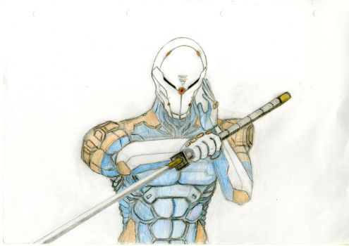Gray Fox by Draw-Over