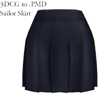 MMD- Sailor Skirt -DL by MMDFakewings18