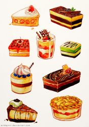 Cake :D by Qinni