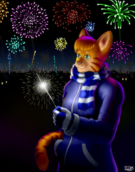Flowers in the sky ~ by Tiido