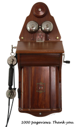 Old Telephone - 1000 Pageviews by MochaCat
