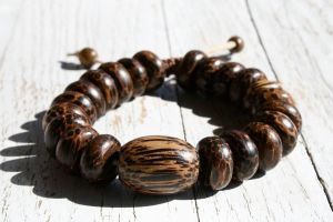 Mens Wood Coco Bracelet by clroavieg