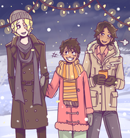 winter bros by AlsTheMighty