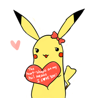 Pikachu Valentines by AcidicFishes