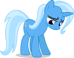 Mlp Fim Trixie (sad) Vector by luckreza8