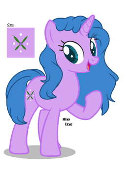 Layla- Mlp OC by MissEvieFrye