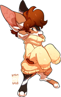 #229 Charity Fornlee - Calico Cat (AUCTION) by Kitkabean