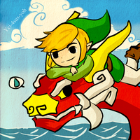 Wind Waker: Go ahead by yei-4sus-yoh