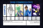 Commission Prices! by SupercellComic