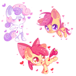 Cutie Mark Crusaders MLC by Ipun