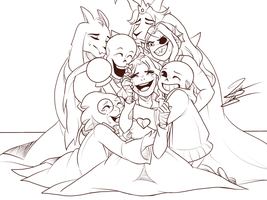 Reunited (wip) by Majestic-Sushi