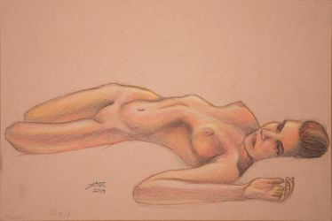 May 2018 Figure Drawing by starr