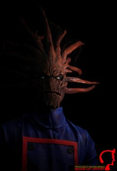 Groot MakeUp by FraGatsu
