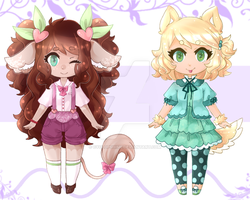 kemonomimi adopts { OPEN } by CyhimeAdopts