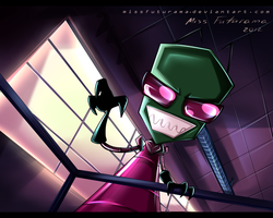 Say hello to Zim by MissFuturama
