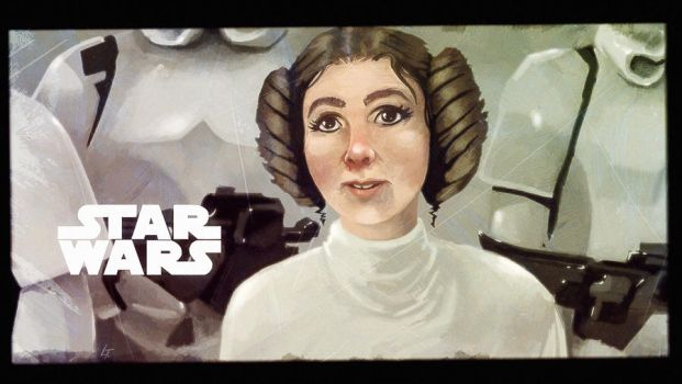 StarWars - A new hope by LucThijssen